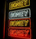 BONEY neons on frames installed into windows 127x137 - Types