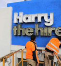 Harry the hirer 3D metal letters neon Illum 9 127x137 - Types