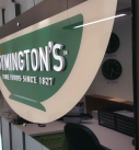 SYMINGTONS acrylic office sign with laser cut 3Dacrylic leyttering 1 127x137 - Types