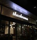 Theobroma acrylic LED lettering on frame 127x137 - Types